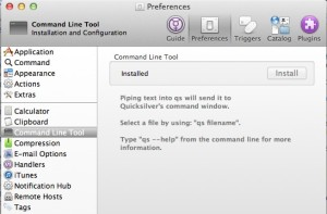 Extra Step to Install Command Line Tool